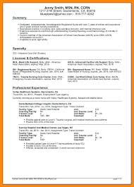 travel nurse resume sample resume for travel nursing resume page 1