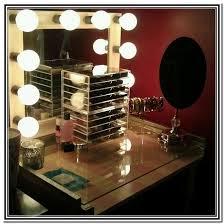 Lighted Vanity Mirror Diy Diy Hollywood Vanity Mirror With Lights Home Design Ideas