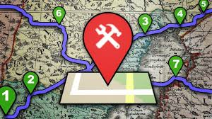 map trip how to plan a trip itinerary using custom maps