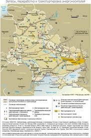 Map Of Eastern Europe by Envsec Publications