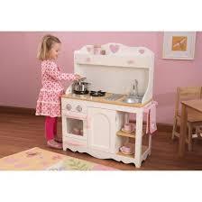 cuisine en bois fille la cuisine dinette en bois complet avec meuble achat vente