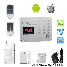 gsm alarm systems security home by call or sms android ios