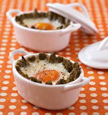 cuisine à la cocotte oeufs cocotte aux asperges les meilleures recettes de cuisine d