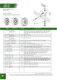 john deere front axle steering u0026 related components page 18