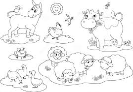 farm animal coloring pages shimosoku biz