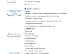 Barista Resume Sample by Multitasking Skills Resume Examples Reentrycorps
