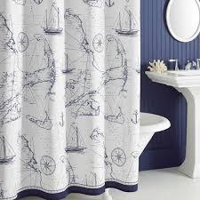 Modcloth Shower Curtain Nautical Bathroom Shower Curtains Home Bathroom Design Plan