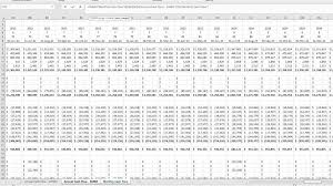 Discounted Flow Excel Template Two Techniques For Converting Monthly To Annual Flows In