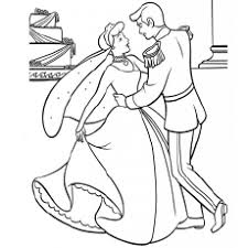 25 free printable cinderella coloring pages