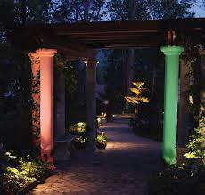 Colored Landscape Lighting Colored Lens Covers Can Change The Mood At Your Clearwater Or