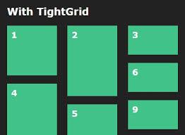 split layout js inline block based fluid grid layout plugin for jquery tightgrid