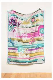 desigual home decor bedspread for the bed or sofa paisley bloom desigual com g