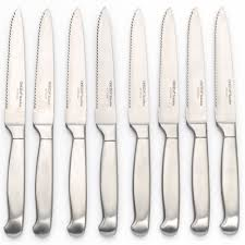 oneida kitchen knives 8 pc stainless steel knife set