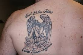 25 impressive praying angel tattoo designs and ideas golfian com