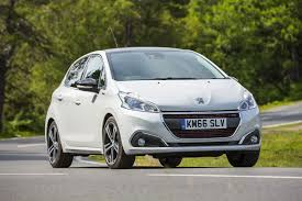 peugeot company car peugeot 208 1 2 gt line 2016 review by car magazine