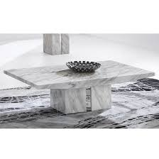 Marble Coffee Table Jupiter Marble Coffee Table Rectangular In White