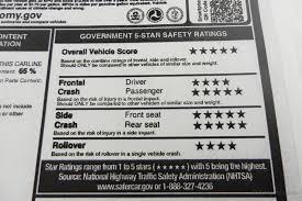 how to read a new car window sticker edmunds com