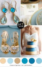 blue and gold decoration ideas sky blue and gold wedding wedding ideas