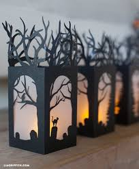 Paper Craft Home Decor Diy Halloween Lanterns By Lia Griffith Project Home Decor