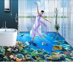 3d ocean floor designs epoxy painted 3d flooring art and 30 3d bathroom floor designs