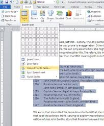 How To Put An Excel Table Into Word Simple Steps To Convert A List Into A Formatted Word Table