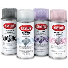 krylon glitter spray paint blick art materials