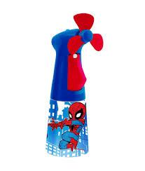 water bottle misting fan spiderman water misting fan fmc0017 o2cool