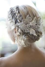 Hochsteckfrisurenen Geflochten Hochzeit by Wunderschöne Hochzeit Hair Sleek Hochzeit Braided Bun