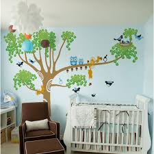 Tree Decal For Nursery Wall Simple Tree Wall Decals For Nursery Ideas