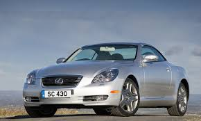 lexus convertible sc430 lexus sc roadster review 2001 2009 parkers