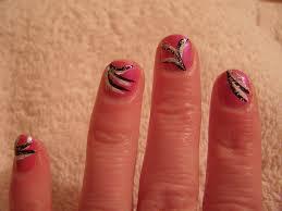 nail art flicks pink nail polish with various flicks creat u2026 flickr
