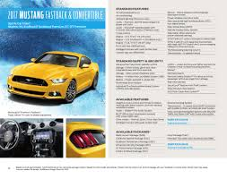 mustang models by year pictures ford 2017 mustang sales brochure