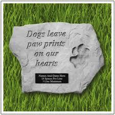 memorial stones for dogs custom garden for dogs