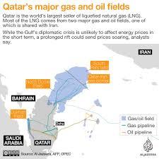 Doha Qatar Map Qatar Iran Ties Sharing The World U0027s Largest Gas Field Qatar