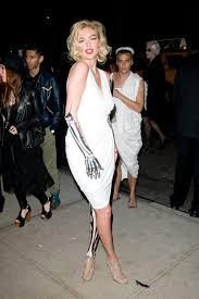 Marilyn Monroe Costume Halloween 25 Celebrity Halloween Costumes
