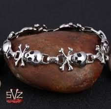 free charm bracelet images Skull charm bracelet stainless steel 6 models be pretty almost jpg