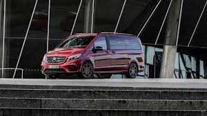 limited edition mercedes mercedes v class limited and rise editions spice up the posh mpv