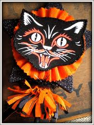 vintage inspired black cat wand halloween 22 00 via etsy