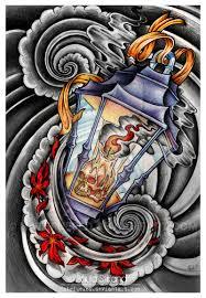 new school water tattoo 52 lantern tattoos designs