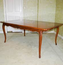french country style cherry dining table by henredon ebth