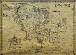 map from lord of the rings lord of the rings map prints allposters co uk