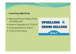 cross selling up selling