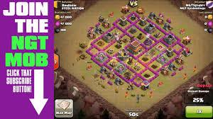 2 successful 3 star raids clash of clans clan war 2 battle