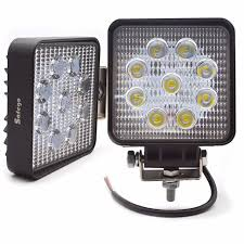 led driving lights for trucks safego 2x car 27w led work light l 12v led driving lights 4x4 atv
