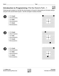 introduction to programming plot the robot u0027s path u2013 1 free