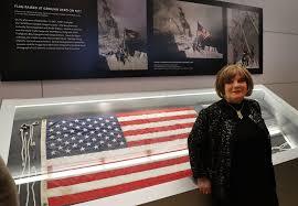 911 Flag Photo King5 Com Photos Ground Zero Flag At 9 11 Memorial Museum