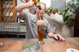 german restaurant nyc business insider how to pour beer like a german u2014 zum schneider