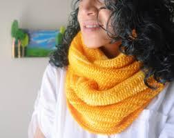 bright yellow scarf etsy