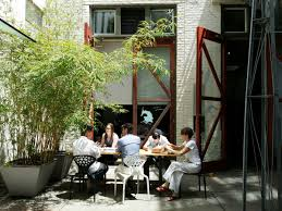 German Beer Garden Table by David Baker Architects Office Views