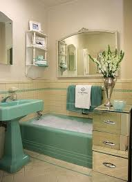 seafoam green bathroom ideas best 25 retro bathrooms ideas on vintage tile floor